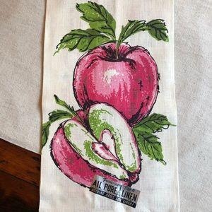Vintage print  towel